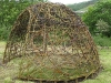 Glyncoch Community Garden willow dome