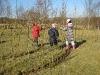Ysgol Gynradd Cwrtnewydd - Living Willow Play AreaYsgol Gynradd Cwrtnewydd - Living Willow Play Area - Weaving tunnels