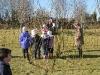 Ysgol Gynradd Cwrtnewydd - Living Willow Play Area - Weaving tunnels